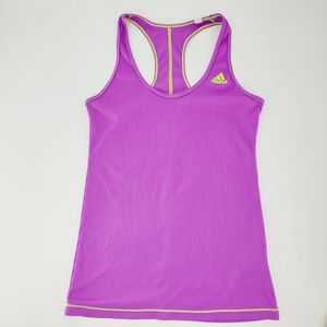 Adidas Purple Athletic Tank Top X Back